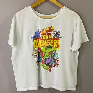Avengers Crop Tee